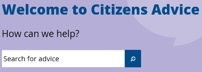 Citizens Advice Search