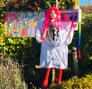 Our entry for the scarecrow festival