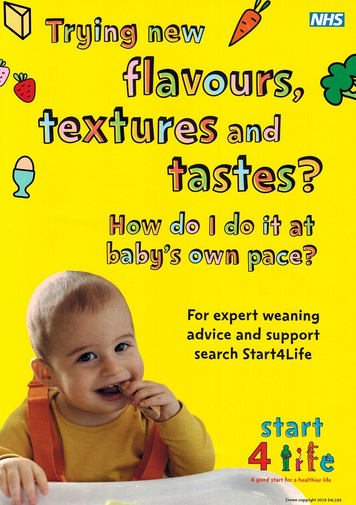 Start for life weaning advice and support