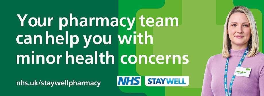 Stay Well This Winter. Your pharmacy team can help you with minor health concerns