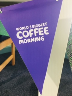 Pictures from the MacMillan coffee morning